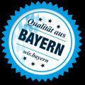 Siegel Qualiät aus Bayern
